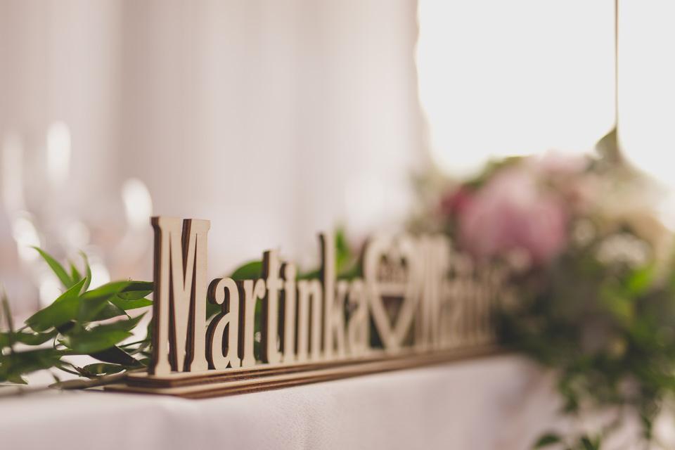 Svadobný deň Martiny a Matúša na Čingove