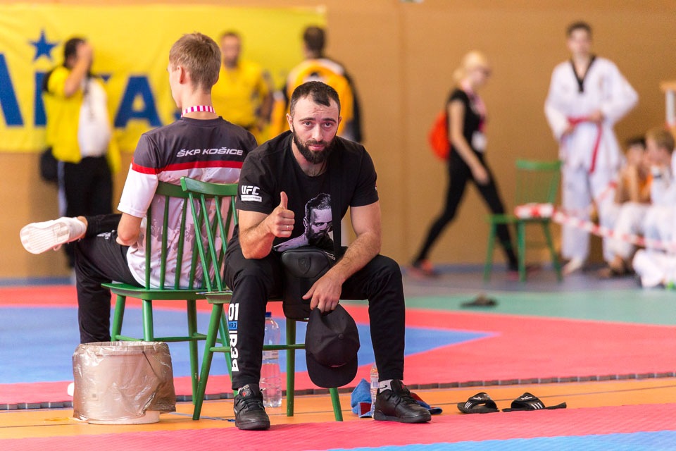 Pohár Black Tiger sa uskutocnil 29. septembra 2018 v priestoroch mestskej sportovej haly v Snine